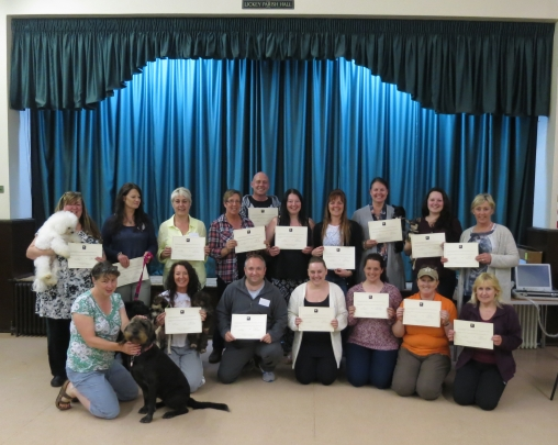 ultrasound training day for dog breeders